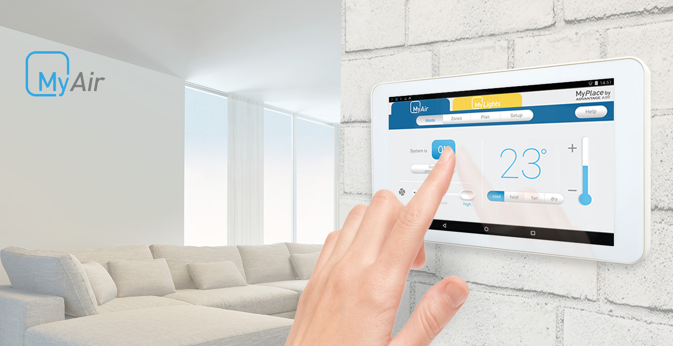 Smart Home Air Conditioning System Myair Advantage How Much Does Conditioner Circuit Board Cost